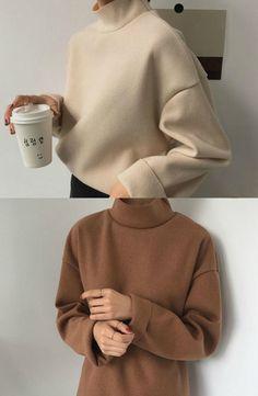 monroll - Mock-Turtleneck Sweater #sweater #turtleneck #flashdeal
