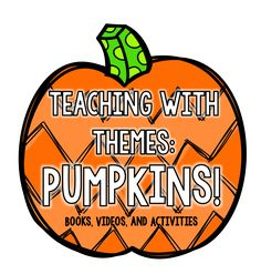It's October. The leaves are changing and falling. The air is cool and crisp. But most importantly... Pumpkins. Kids love pumpkins. And...