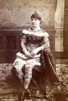 Irene Woodward, nascida em 1862