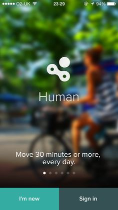 Human first intro page