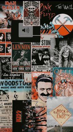 Iphone Wallpaper Rock, Pop Art Wallpaper, Galaxy Wallpaper, Black Aesthetic Wallpaper, Aesthetic Iphone Wallpaper, Aesthetic Wallpapers, Band Wallpapers, Cute Wallpapers, Vintage Wallpapers