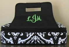Personalized Casserole Carrier Monogram by MaeandMeDesigns on Etsy, $40.00