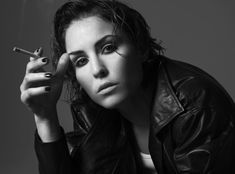 I love this photograph of Noomi Rapace.  The Girl with the Dragon Tattoo (the real Swedish ones, the books rock too) is one of my all time favorite movies, thanks mainly to her amazing performance.