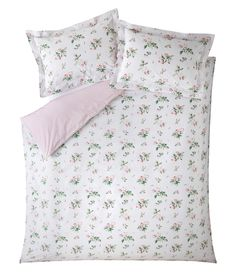 Clementine Rose Bed Linen from Cabbages & Roses Bed Linen Sets, Duvet Sets, Duvet Cover Sets, Velvet Duvet, Embroidered Cushions, Pink Bedding, Cotton Duvet, Bed Throws, Cabbages