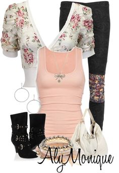 """""""Untitled #530"""" by alysfashionsets on Polyvore"""
