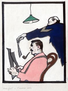 Ferenc Pinter : Maigret Comic Art