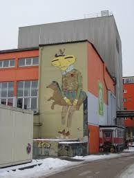 Streetart, Kultfabric, Munich, Germany