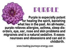 But what if I'm obsessed with puuuurple and don't want to banish the past?