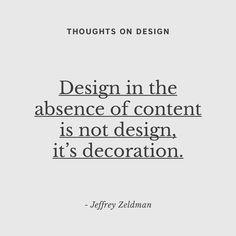 """19 """"Μου αρέσει!"""", 2 σχόλια - wedesignstuff ™ (@wedesignstuff_tm) στο Instagram: """"#designquote #quote #quoteoftheday #wedesignstuff #thoughtsondesign #jeffreyzeldmanquote"""""""