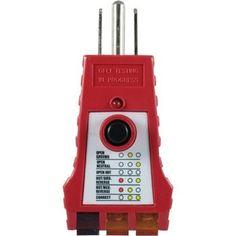 GE 50957 110V-125V GFCI Tester