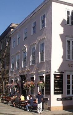 King's Arms Pub, Oxford, England, UK :)
