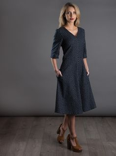 The A-Line Dress from The Avid Seamstress