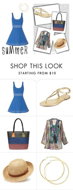 Des indispensables...direction plage by studiostiletto on Polyvore featuring mode, Elizabeth and James, Naturalizer, BCBGeneration, Chaps and Oris