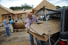 Eco-Village at  Wisconsin: Sustainable, Affordable, by Non Profit 'Habitat for Humanity,' the sixth-biggest U.S. home builder last year.