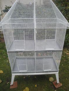 Grande cage à oiseaux Volière TTBE Années 70 de fabrication Française | Animalerie, Oiseaux, Cages, volières | eBay!