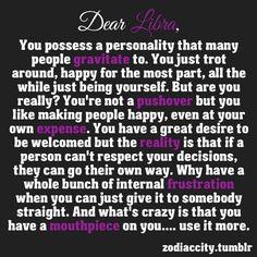 Dear Libra