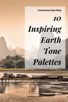 Part 3 of Bringing Nature Inside Your Home with Earth Tones,. Picturesque landscapes inspire these 10 earth tone palettes for your home design project. Earth Tone Colors, Earth Tones, Sunset Landscape, Landscape Photos, The Dunes, Shades Of White, Botanical Prints, Landscapes, Palette