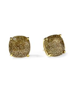 Loving Late Spade accessories right now. Piperlime | Small Square Stud Earring