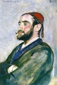Edvard Munch - 1888, Marius Selmer