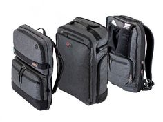 Multi-Bag Modular Luggage System by Onli Travel Carry On Luggage, Travel Luggage, Backpack With Wheels, Packing Cubes, Backpack Straps, Traveling By Yourself, Suitcase, Backpacks, Planner Ideas