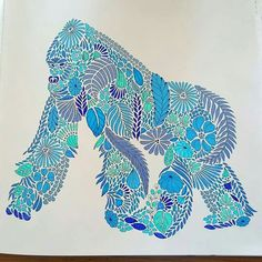 Millie Colored Pencil TutorialAdult ColoringColoring BooksColored PencilsAnimal KingdomMonkeyTherapyColoring Book ChanceLivros