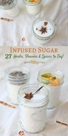 Infused sugar smells divine, tastes decadent, and makes a beautiful gift. I love to use it in baking, tea time, and it makes a wonderful homemade gift idea.