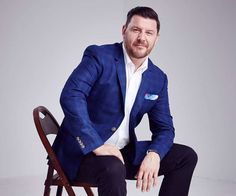 My Kitchen Rules judge Manu opens up living with depression My Kitchen Rules, Living With Depression, Sydney Restaurants, Open Up, Blazer, Lifestyle, Portrait, Live