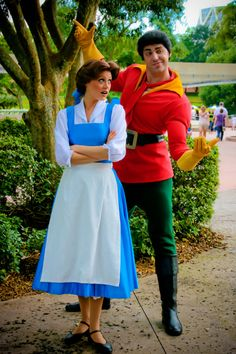 the gaston at disney world when i went in the spring was WAY HOTTER!