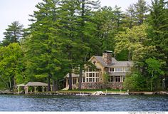 New Hampshire vacation home. TMS Architects.
