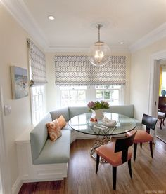 52 Nice Banquette Sitting Ideas for Kitchen
