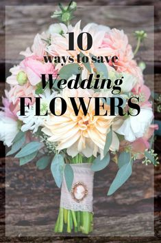 10 Ways to Save Money on Wedding Floral Arrangements >> http://www.diynetwork.com/how-to/make-and-decorate/entertaining/10-money-saving-tips-for-creating-wedding-floral-arrangements-pictures?soc=pinterest