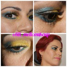 Maquiagem de carnaval! #make #carnaval #bailedecarnaval