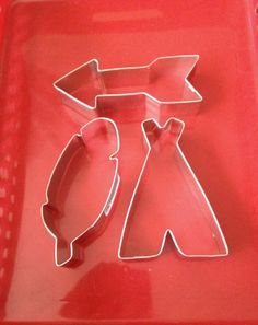 Tribal cookie cutter set teepee cookie cutter 4 by KitchenCrafts