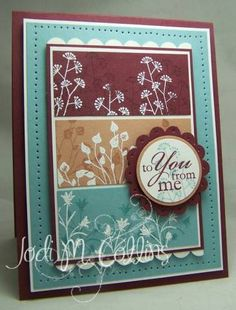 IC152 & WSC64 To You From Me! by Kharmagirl - Cards and Paper Crafts at Splitcoaststampers