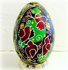 Unique gift idea! Beautiful Ukrainian eggs!  Lots to look at, and even a brief tutorial on how it is done!