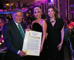 Pin for Later: Lady Gaga's Appearance at Tony Bennett's Birthday Bash Is Actually a Gift to Us All