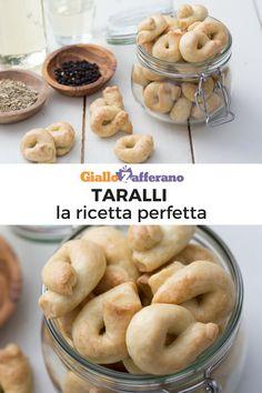 Taralli: la ricetta tradizionale per tarallini perfetti! Segui la ricetta passo passo è preparali anche tu! #giallozafferano #video #videoricetta #aperitivo #appetizer #knots #bagel [easy and quick italian bread]