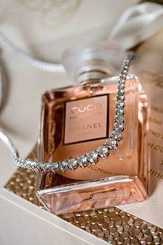 Dressing table must haves: Coco Chanel perfume Rose Gold Aesthetic, Boujee Aesthetic, Bad Girl Aesthetic, Aesthetic Collage, Perfume Chanel, Chanel Pearls, Chanel Beauty, Mademoiselle Coco Chanel, Perfume Collection