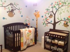 Wildlife Nursery. Love this one for either boy or girl