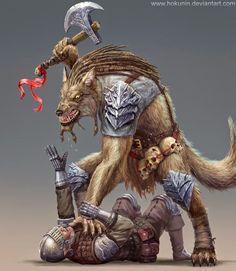 The Troll Dens: Gnolls