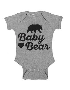 Baby Bear Onsie, Baby Girl Onsies, Cute Onesies For Babies, Family Outfits, Baby Boy Outfits, Cricut Baby Shower, Cute Baby Clothes, Babies Clothes, Family Clothes