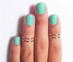Even the simplest nails have potential. light colors will do that trick.