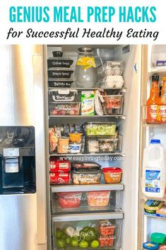 Having a hard time sticking to clean eating? Try these genius meal prep hacks fo.-Having a hard time sticking to clean eating? Try these genius meal prep hacks fo… Having a hard time sticking to clean eating? Fitness Meal Prep, Fitness Tips, Fitness Motivation, Fitness Products, 21 Day Fix Extreme, Body Detoxification, Clean Eating, Healthy Eating, Sunday Meal Prep