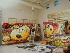 Tom Everhart Studio. #Peanuts #Snoopy
