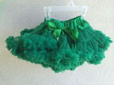 Baby Toddler Girl's Green Pettiskirt Tutu Skirt Ballet Fluffy Party Holidays  #Unbranded #DressyEverydayHoliday