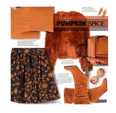 """#pumpkinspice"" by gracekathryn ❤ liked on Polyvore featuring Maison Margiela, NOVICA, Salvatore Ferragamo, Tara Jarmon, Miu Miu, Donald J Pliner, Tod's, Fall, fashionset and womensFashion"