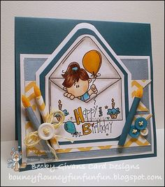 Sending Birthday Wishes by tggrfriend - Cards and Paper Crafts at Splitcoaststampers