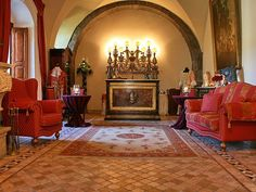 Saint Mark's Castle in Calatabiano, Catania (Italy). Sicily Hotels, Small Luxury Hotels, Catania, Historic Homes, Hotels And Resorts, Castle Interiors, Home Decor, Sicily Italy, Castles