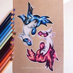"""2,503 Likes, 49 Comments - MARILYN MAE ✨ (@maeartistry) on Instagram: """"Hey friends! Who remembers these little guys? I finally went around to finishing this. I started…"""""""