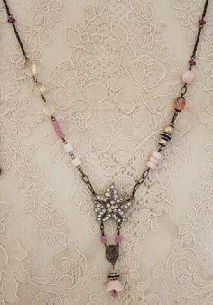 necklace in pink - Andrea Singarella